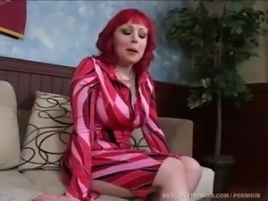 Horny Stepmom Finds A Way To Get Rid Of Her Problem