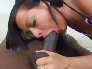 Sandra Romain Likes This Big Black Cock