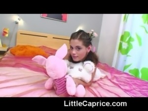 18yo Little Caprice shows her s ... free