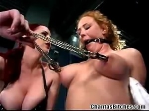 Berlin dominates Audrey Hollander in this lesbian bdsm scene. In this part:...