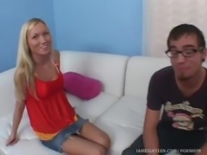 Madison Scott Gets Her Pussy Plowed At The Perfect Age Of 18