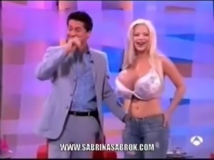 Sabrina Sabrok Biggest Boobs Celeb free