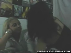 Spanish Lesbian Homemade Video