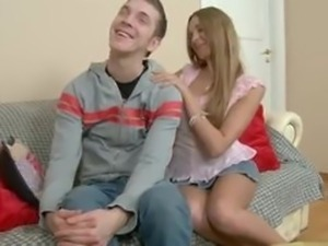 Sexy Teen Gets Ass Fucked and Feet Licked
