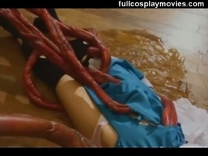 Live Action Tentacle Asian Maid free