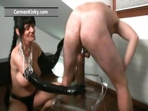 Melons Carmen up the gym riding part4