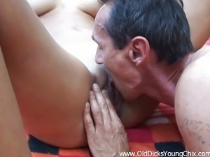 Kitty Jane fuck with old man