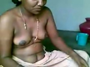 Indian Chennai aunty exposed and fucked nice nipples and fat cunt