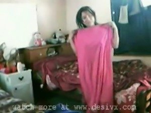 bedroom sex indian wife