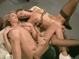 GGG scene starring Lezley Zen, Shauna banks & another chick