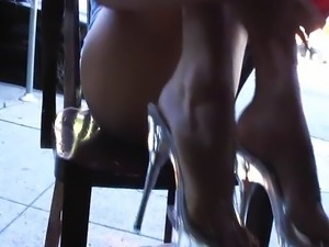 Perverted - Almost Naked In A Public Cafe