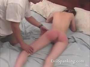 Madison her ass spanked red free