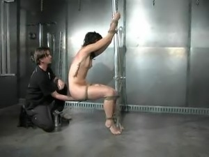 Part 4 of a bdsm scene with Dylan Ryan.