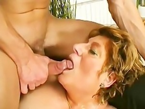 Horny Grandma Looks For Lover - Scene 1