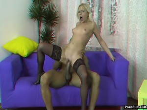 This sexy blondie loves black lads and she is not ashamed of revealing her...