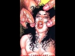 Cock Sucking Deepthroat Sex Art