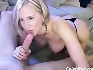 Blonde Wife and Black Lover Cum Together