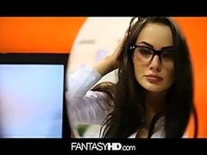 FANTASYHD Office secretary fucked by her boss