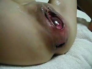 Japanese Extreme EW Insertion - ball in pussy 01