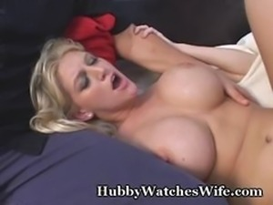 Hubby Encourages Wife To Fuck Stranger
