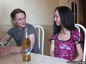 young party turns sexy over some drinks