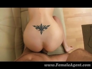 Tight blonde anal casting