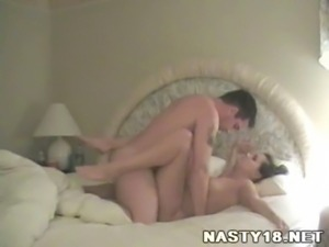 Amateur Couple Nice Bedroom Fuck www.Nasty18.net free