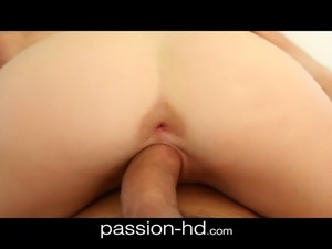 Passionate 19yo cream pie