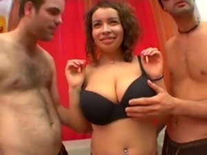 Busty french fucked by two guys - XVIDEOS.COM free