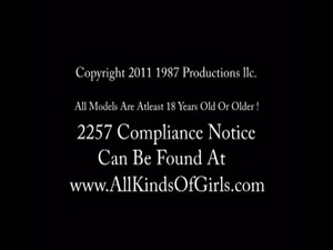 To see the full uncut video just go to AllKindsOfGirls.com To see more...