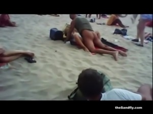 theSandfly Horny Beach Holidaymakers! free