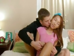 Young Asian Anal