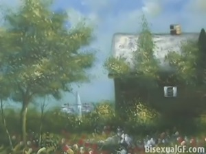 Two girls having sex in the bedroom free