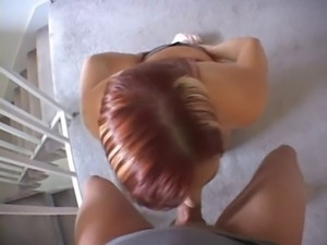 beauty pov blowjob (katja kassin)