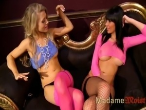 Michelle Moist and Friend Playing 3 free