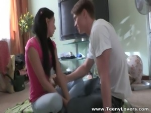 Hot teens fuck on the floor free