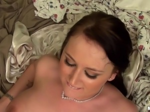 gorgeous alexis and her partner are really horny