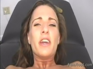 Masturbating to Pulsing Squirting Orgasms Standing Up free