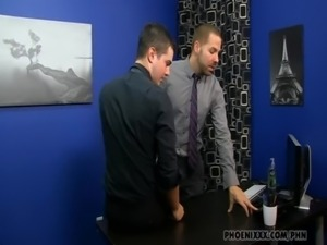 Gay Guys in Office free