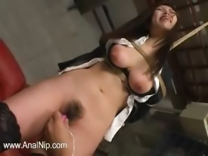 Deep hairy anal penetrate in prison