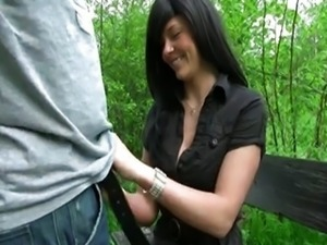 german amateur outdoor blow and anal