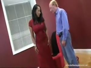 Ballbusting Milf Fitting Session free