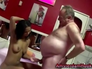 Real dutch hooker handjob