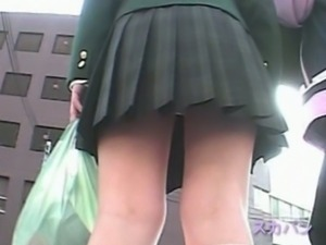 Voyeur filming upskirt japanese girls