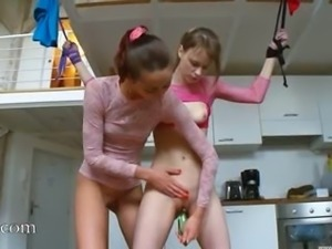 18yo hungarian chicks playing with toys