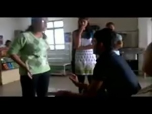 D.Y Patil college Girls in canteen with audio free