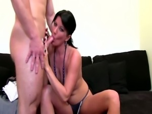 Euro agent bangs on casting couch with new client free