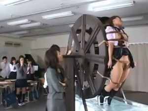 Asian schoolgirl water torture free
