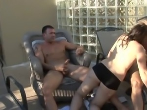 Orgy By The Pool part 2