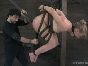 tracy sweet tortured and pounded in both holes